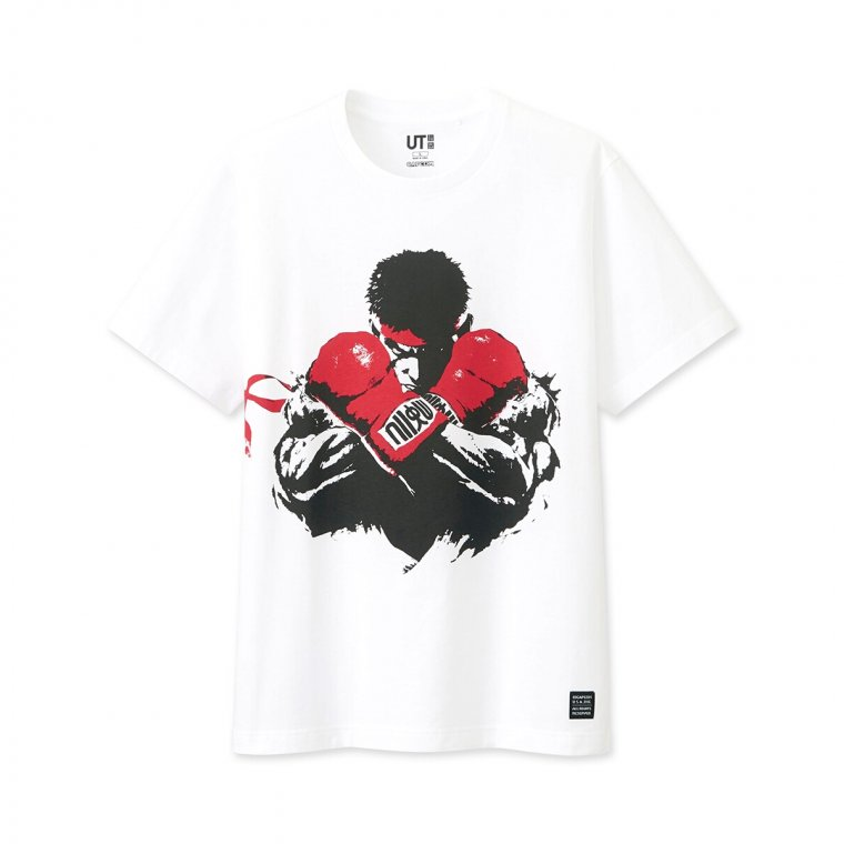 T-shirts Street Fighter Uniqlo 01