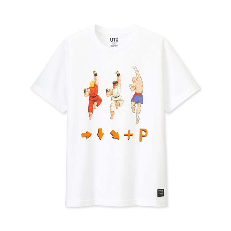 T-shirts Street Fighter Uniqlo 02