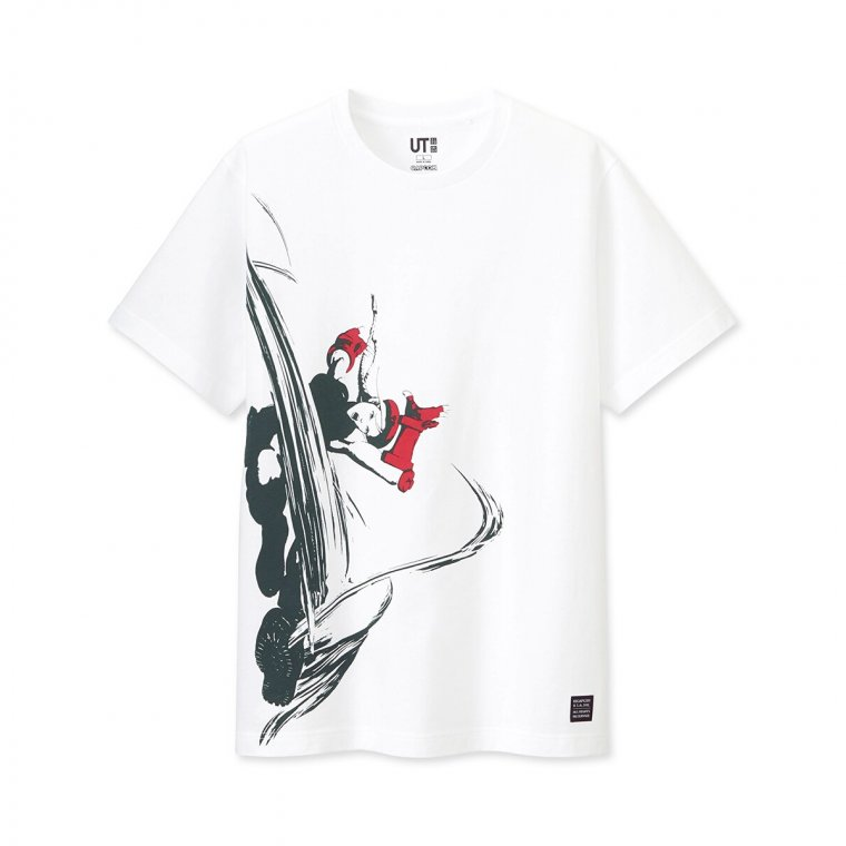 T-shirts Street Fighter Uniqlo 03