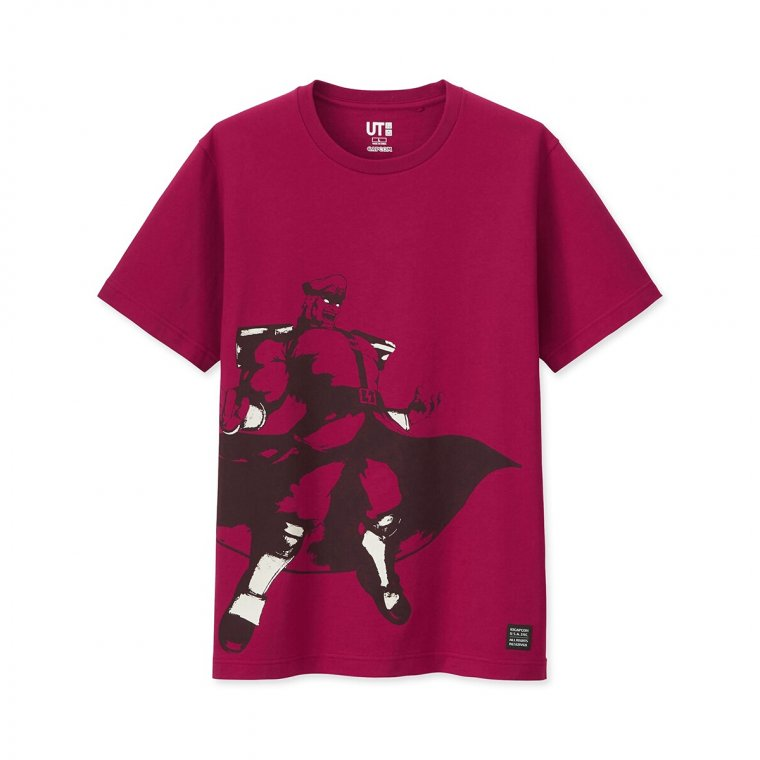 T-shirts Street Fighter Uniqlo 10