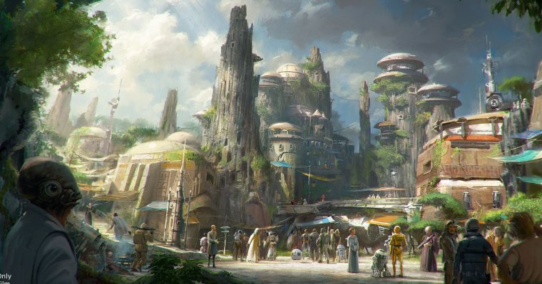 Star Wars : Galaxy's Edge 01