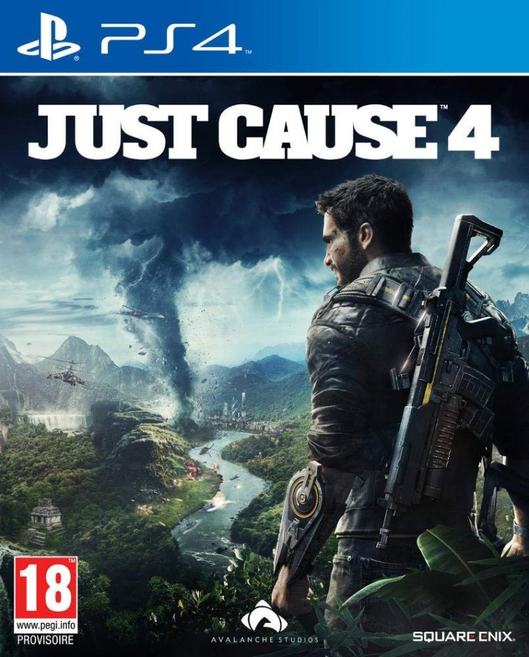 Just Cause 4 - Jaquette PlayStation 4