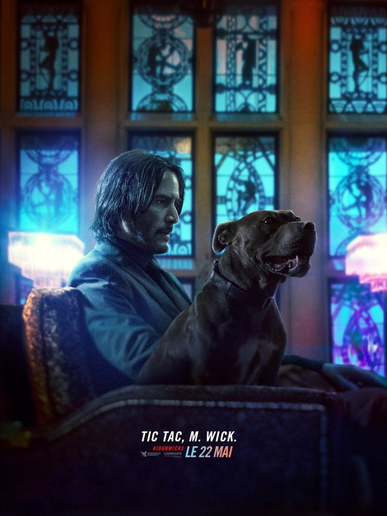 John Wick 3 - Affiche personnage 01