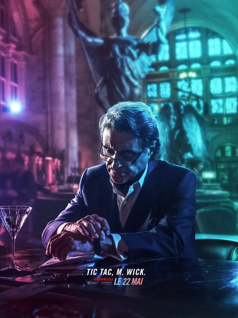 John Wick 3 - Affiche personnage 03