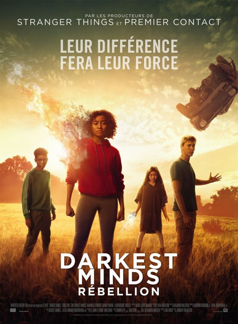 Darkest Minds : Rébellion affiche