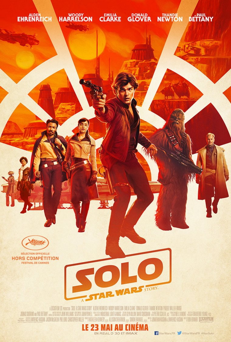 Solo : A Star Wars Story affiche