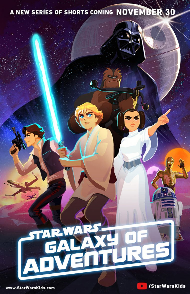 Star Wars : Galaxy of Adventures