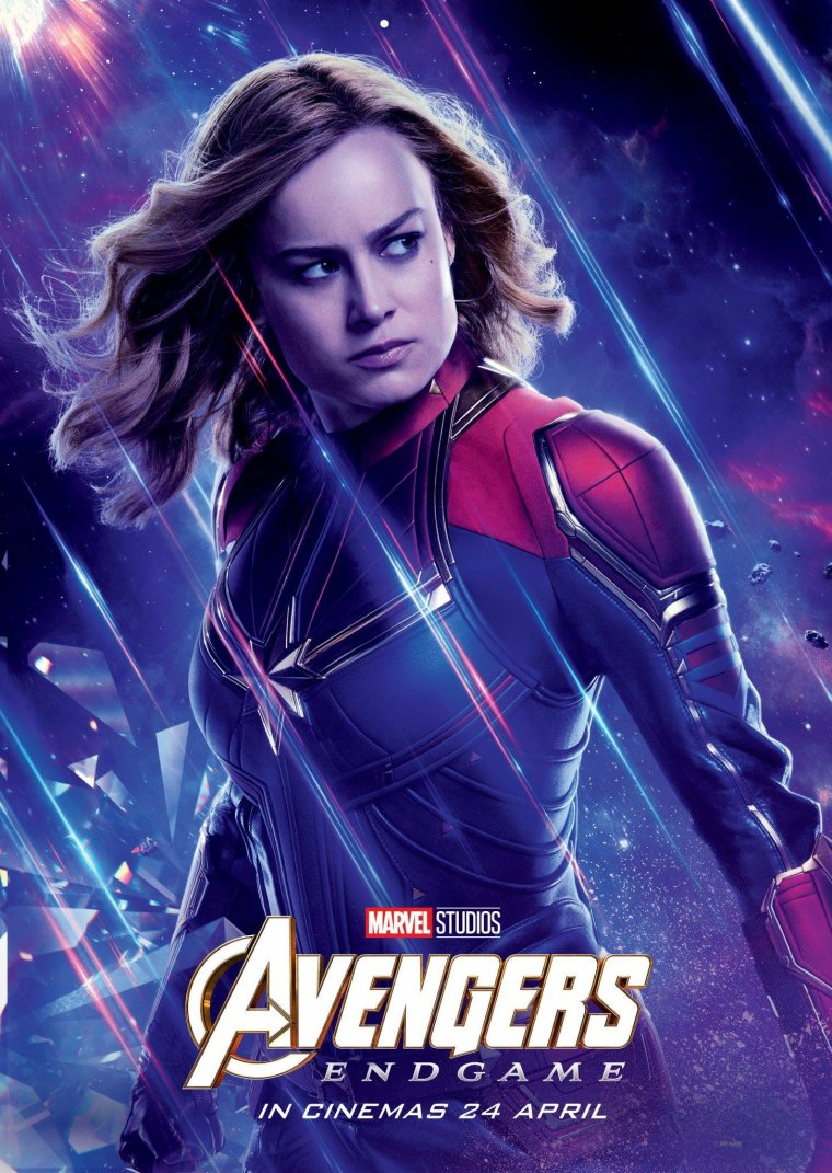 Avengers : Endgame - Captain Marvel