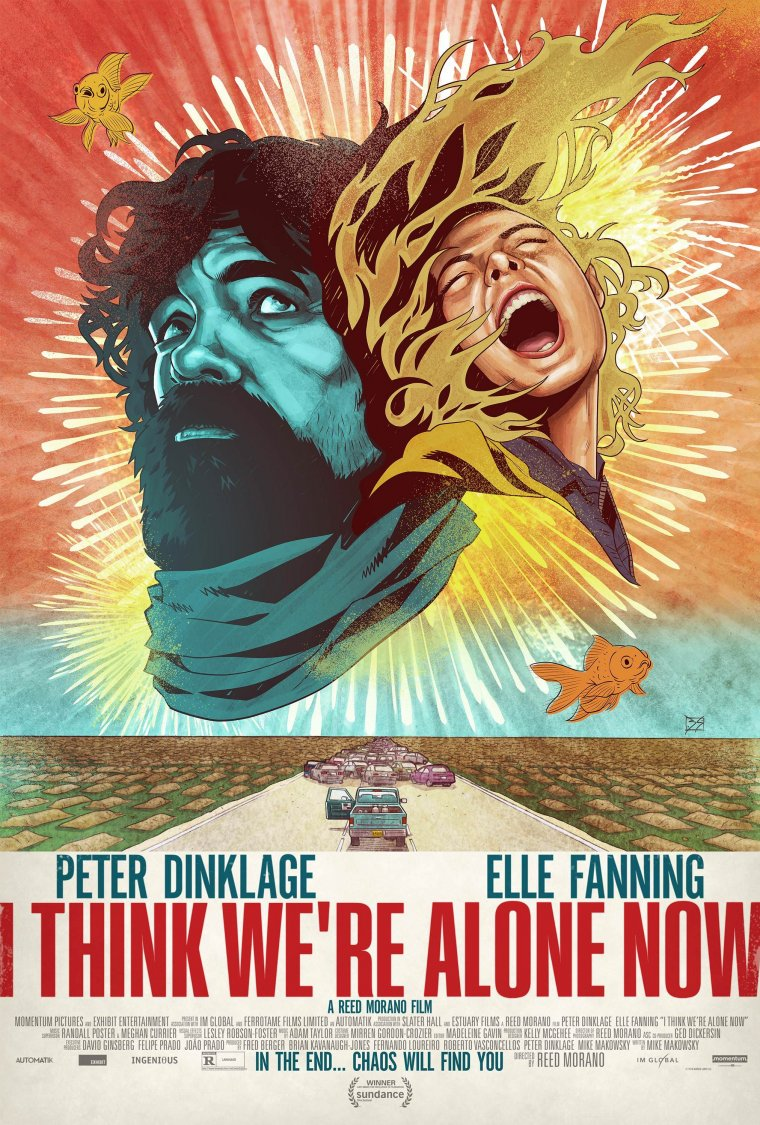 I Think We're Alone Now - Affiche américaine