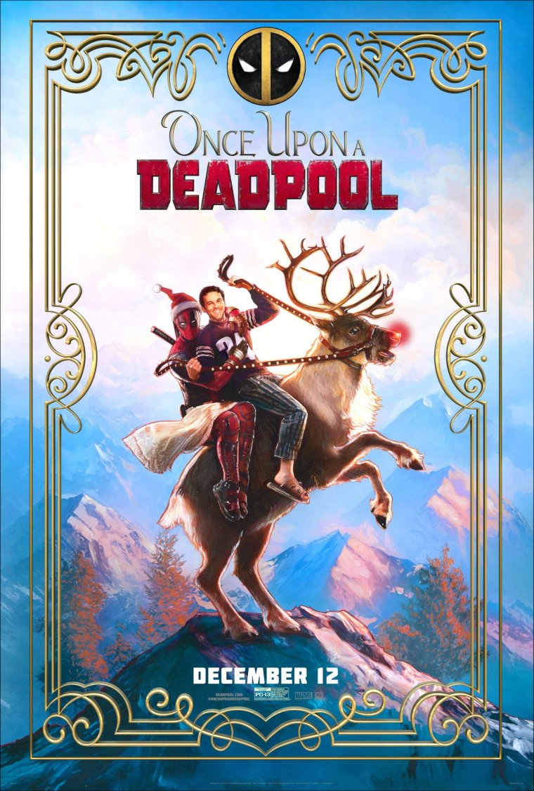 Once Upon A Deadpool - Affiche