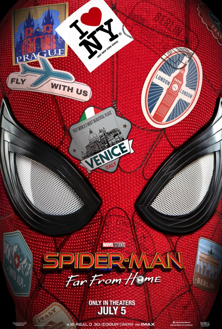 Spider-Man : Far From Home - Affiche teaser