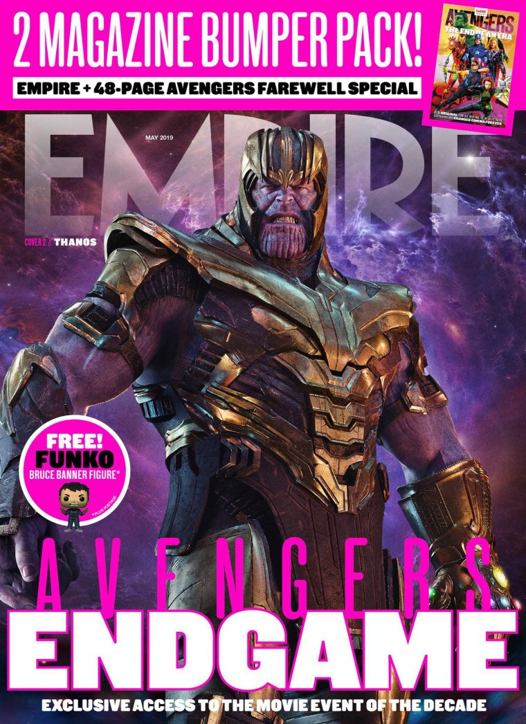 Magazine Empire Avengers : Endgame 01