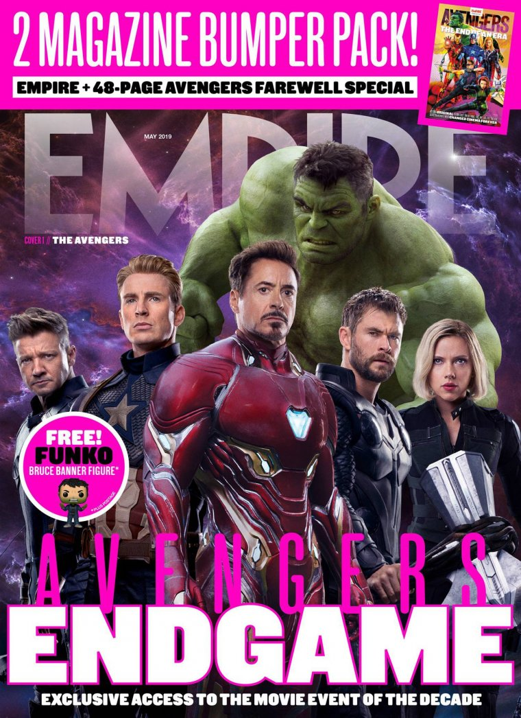 Magazine Empire Avengers : Endgame 02