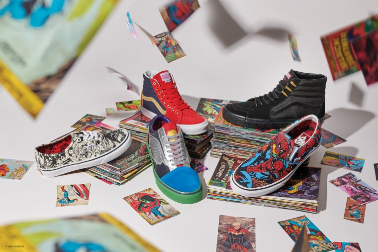 Vans s'associe à Marvel pour une nouvelle collection de baskets 01