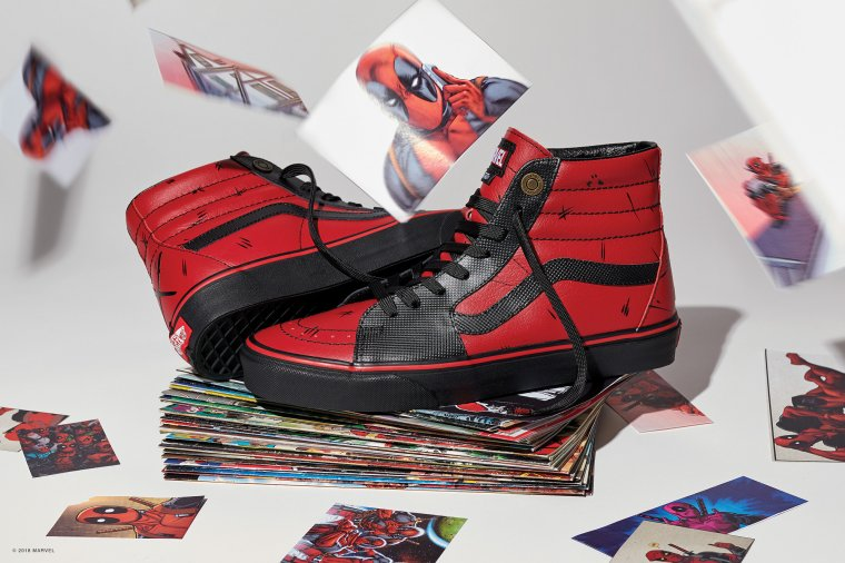 Vans s'associe à Marvel pour une nouvelle collection de baskets 05