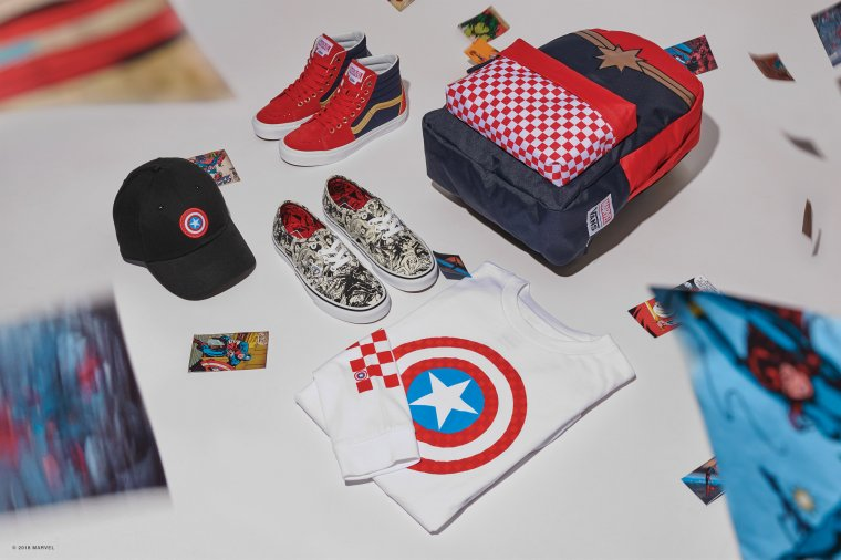 Vans s'associe à Marvel pour une nouvelle collection de baskets 06
