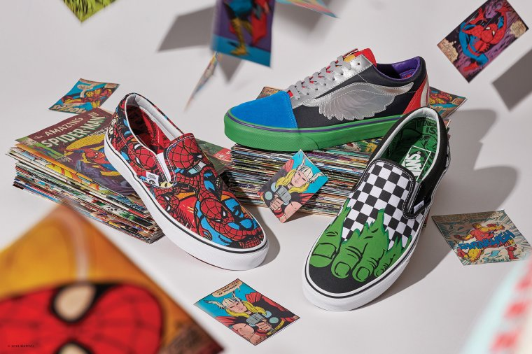 Vans s'associe à Marvel pour une nouvelle collection exclusive 02