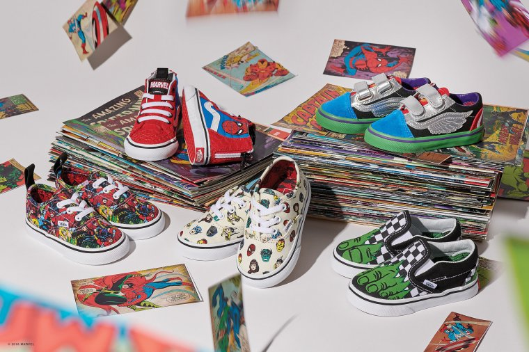 Vans s'associe à Marvel pour une nouvelle collection exclusive 03