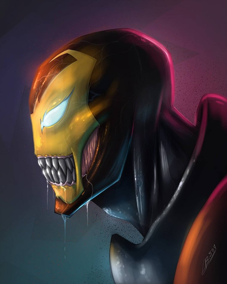 Venom Iron Man